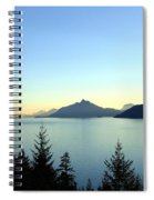 Captivating Howe Sound Spiral Notebook