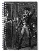 Capture Of Fort Ticonderoga, 1775 Spiral Notebook