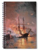 Capture Of New Orleans By Union Flag Officer David G Farragut Spiral Notebook