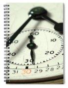 Captured Time Spiral Notebook