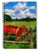 Car - Wagon - The Old Wagon Cart Spiral Notebook