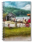 Car - Wagon - Traveling In Style Spiral Notebook