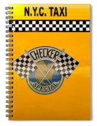 Car - City - Nyc Taxi Spiral Notebook