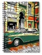 Car Club 1960s Spiral Notebook