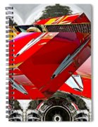 Car Hood As Art Spiral Notebook