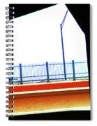 Car On The Bridge Spiral Notebook