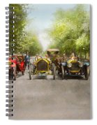 Car - Race - Hold On To Your Hats 1915 Spiral Notebook