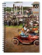 Car - Race - On The Edge Of Their Seats 1915 Spiral Notebook