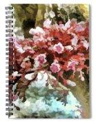 Carambola Flower Spiral Notebook