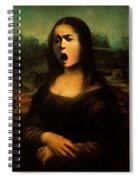 Caravaggio's Mona Spiral Notebook
