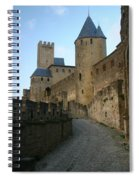 Carcassonne Castle Spiral Notebook