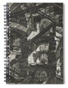 Carceri Series, Plate Xiv Spiral Notebook