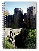 Cardiff Castle Gate Spiral Notebook