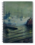 Cardiff Docks Spiral Notebook