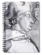 Cardinal Albrecht Of Brandenburg 1523 Spiral Notebook