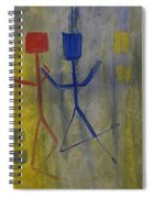 Carefree Spiral Notebook
