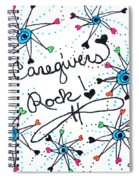 Caregivers Rock Spiral Notebook
