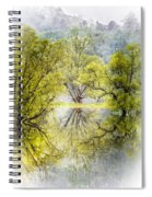 Caress In The Mist Spiral Notebook