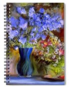 Caress Of Spring - Impressionism Spiral Notebook