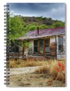 Cargill Residence At Ruby Arizona Spiral Notebook