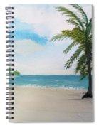 Caribbean Beach Spiral Notebook