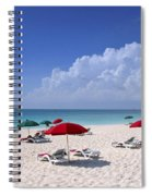 Caribbean Blue Spiral Notebook