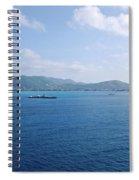 Caribbean Coastline Spiral Notebook