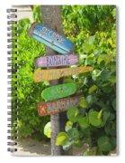 Caribbean Crossroads Spiral Notebook