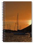 Caribbean Dawn Spiral Notebook