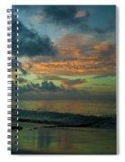 Caribbean Early Sunrise 2 Spiral Notebook