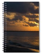 Caribbean Early Sunrise 4 Spiral Notebook