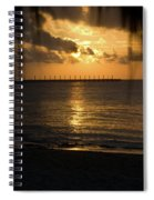 Caribbean Early Sunrise 5 Spiral Notebook