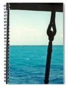 Caribbean From A Square Rigger Spiral Notebook