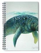 Caribbean Manatee Spiral Notebook