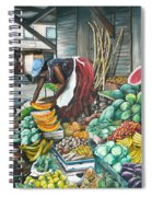 Caribbean Market Day Spiral Notebook
