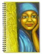Caribbean Mystery Lady Spiral Notebook