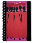 Caribbean Pink Spiral Notebook