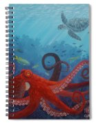 Caribbean Reef Octopus Spiral Notebook