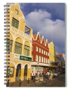 Caribbean Shopping District Spiral Notebook