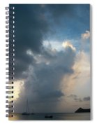Caribbean Skies And Light 1 Spiral Notebook