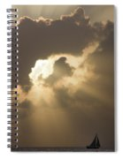 Caribbean Skies And Light 2 Spiral Notebook