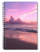 Caribbean Tranquility  Spiral Notebook