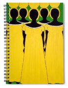 Caribbean Yellow Spiral Notebook