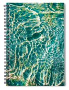 Caribben Waters Spiral Notebook