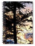 Cariboo District Sunset Spiral Notebook