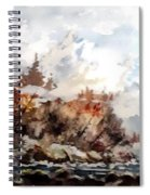 Cariboo Fall Spiral Notebook