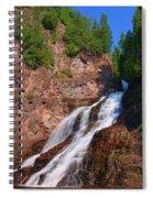 Caribou Falls Spiral Notebook