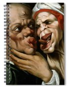 Caricature Spiral Notebook