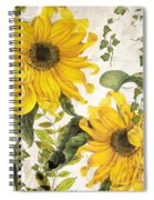 Carina Sunflowers Spiral Notebook