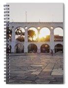 Carioca Aqueduct, Rio De Janeiro Spiral Notebook